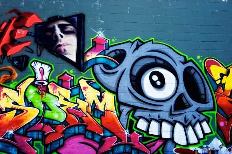Graffiti art in Orlando