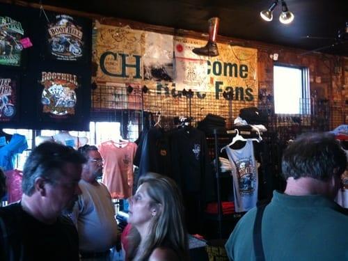 Inside Boot Hill Saloon on Main Street Daytona, Florida