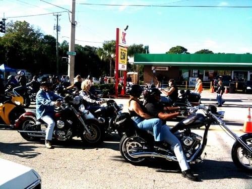 Main Street Traffic during Daytona Biketoberfest