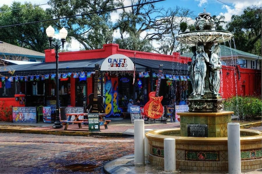 Graffiti Junktion Restaurant in Thornton Park, Orlando, Florida