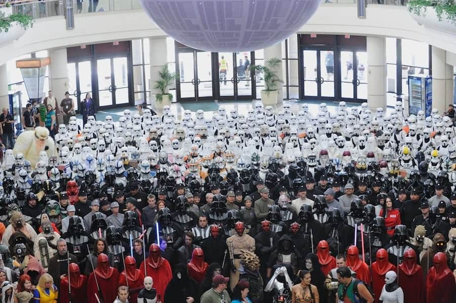 Group Photo of 501st Legion - Vader's Fist