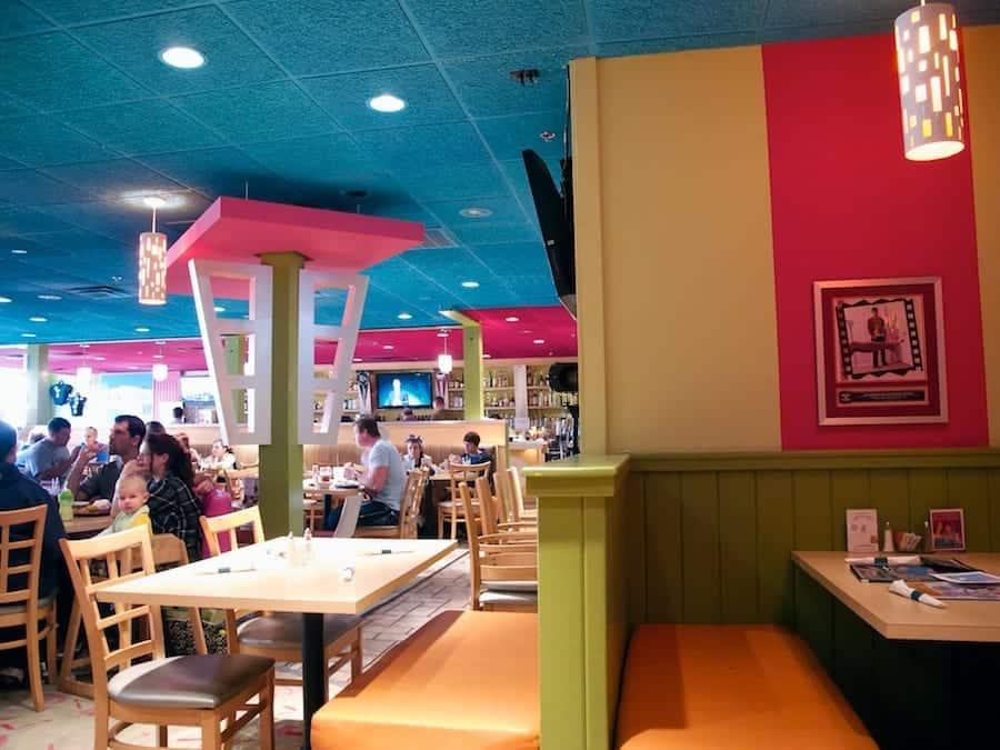 Hamburger Mary's Interior