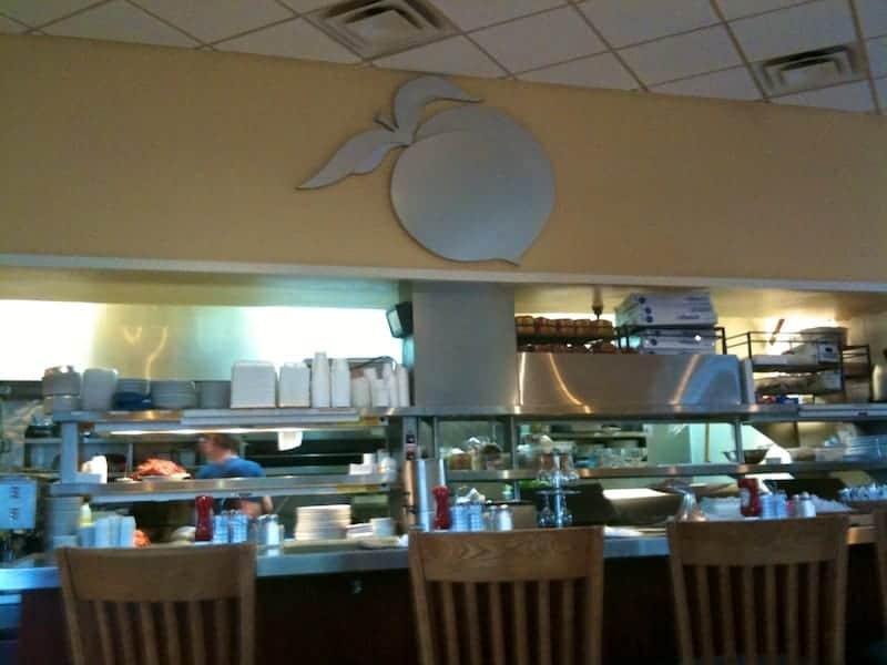 Peach Valley Cafe Counter