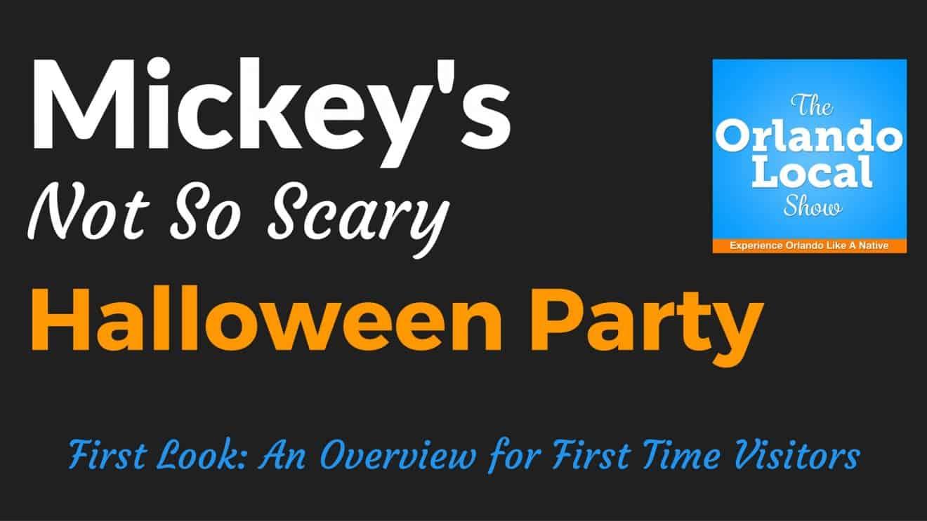 Mickeyu0027s Not So Scary Halloween Party