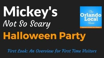 OL 005: Mickey's Not So Scary Halloween Party First Look