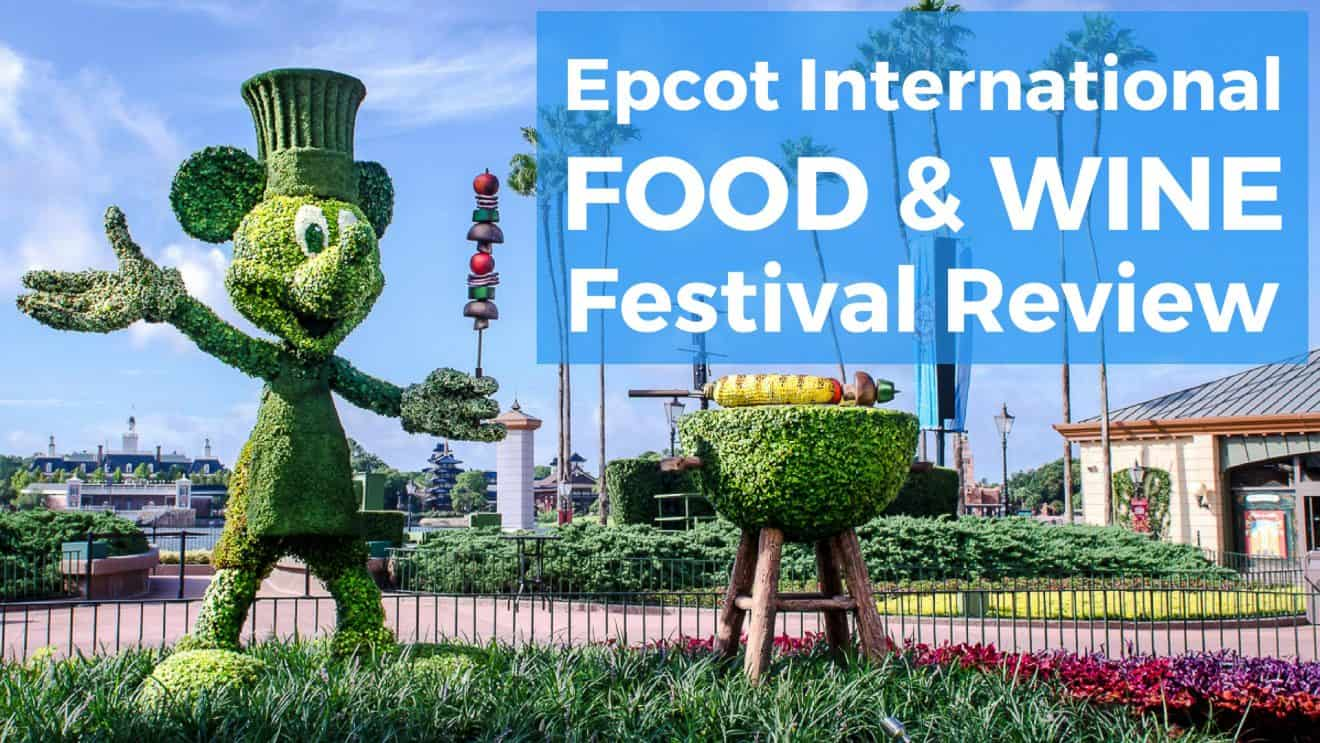 Food And Wine Festival Epcot  Menu