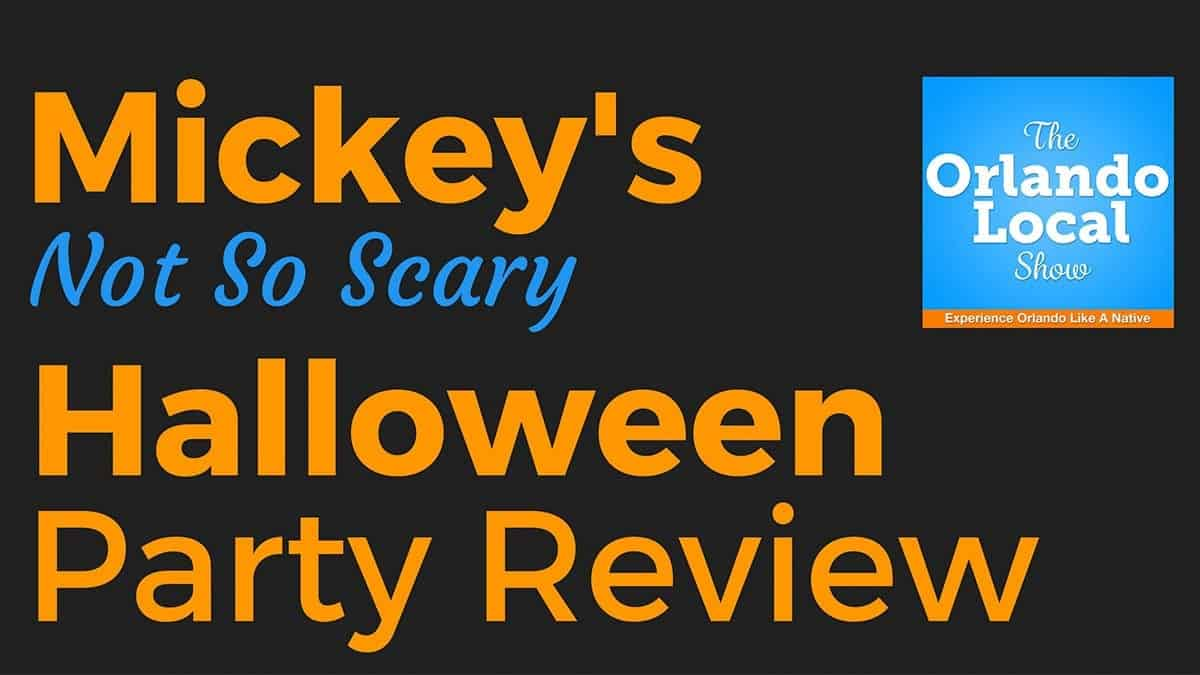 Not So Scary Halloween Party Review for 2016