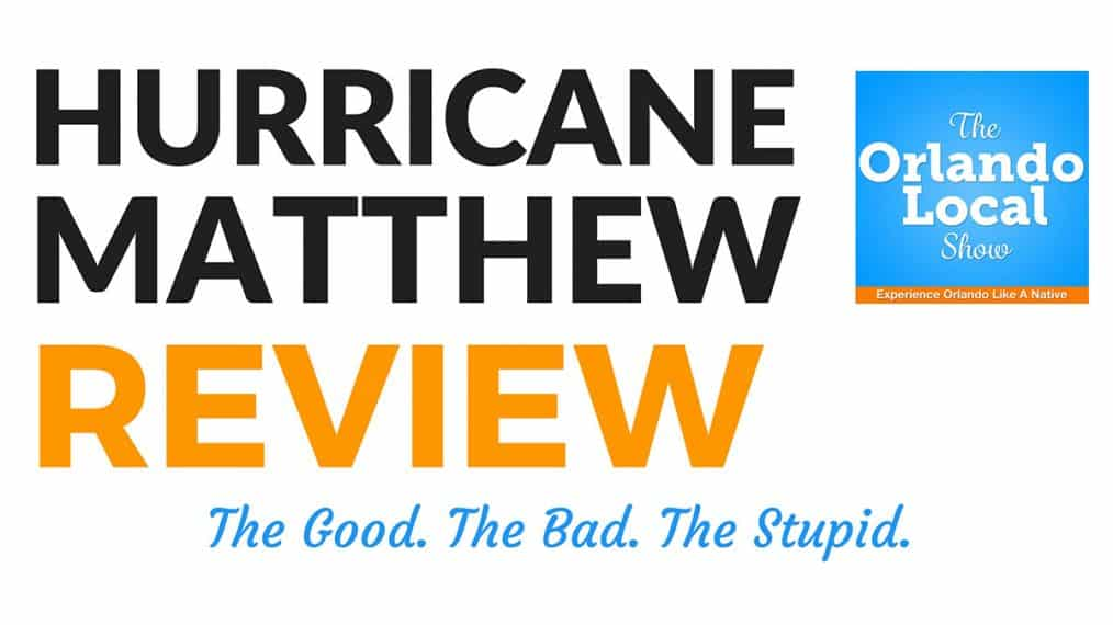 Hurricane Matthew Review
