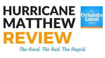 OL 013: Hurricane Matthew Review