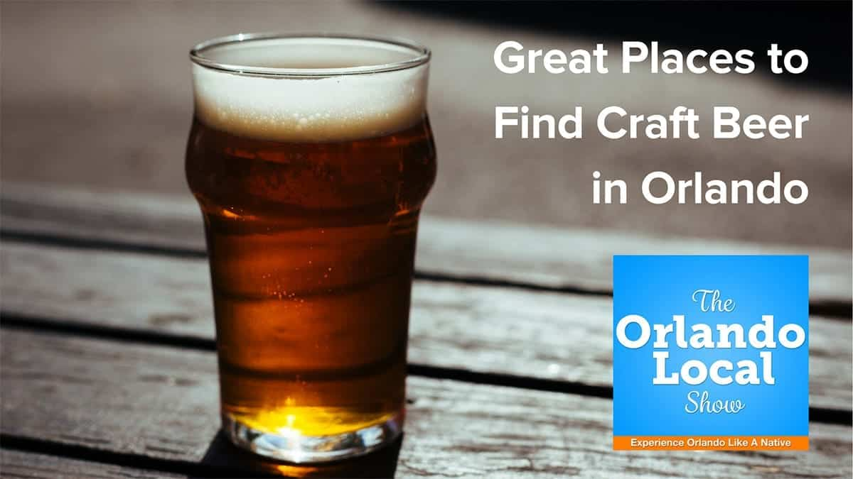 Craft beer in orlando great places around central florida for Where to buy craft beer