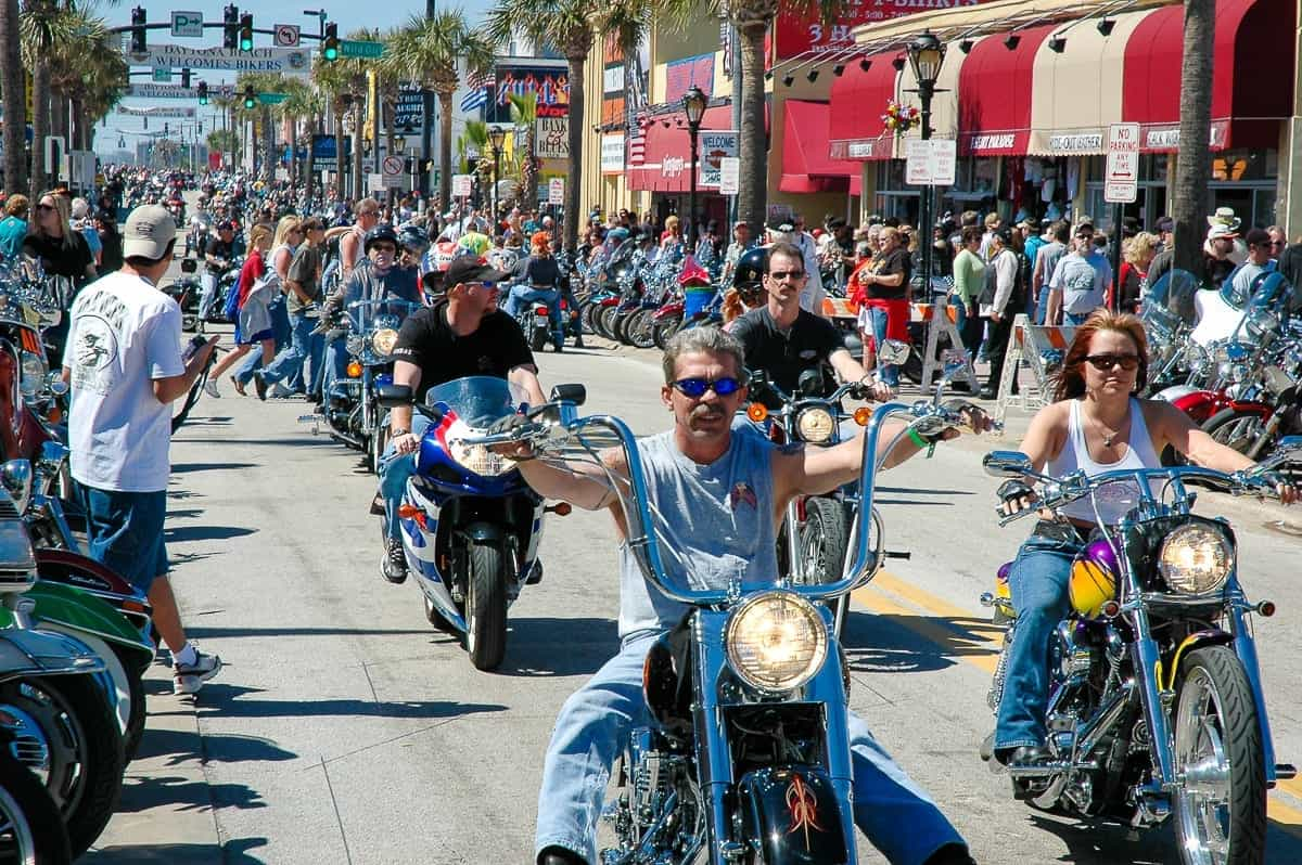 Daytona Bike Week - Main Street