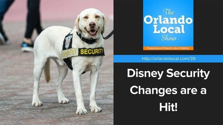 Disney Security Changes
