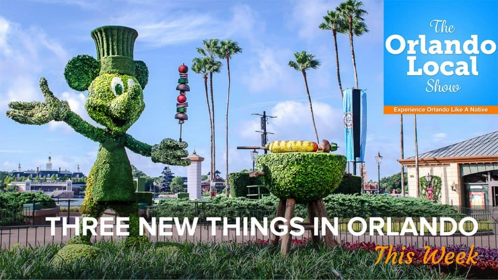 Three New Things in Orlando