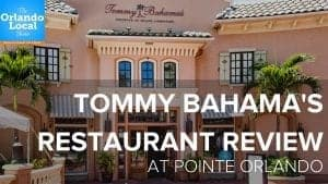 Tommy Bahama Restaurant Review at Pointe Orlando