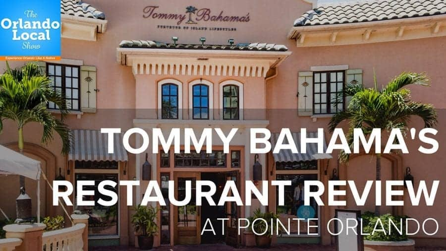 Tommy Bahama Restaurant Review