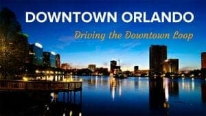Driving in Downtown Orlando