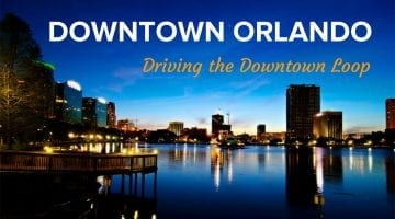 Driving in Downtown Orlando Loop [Video]