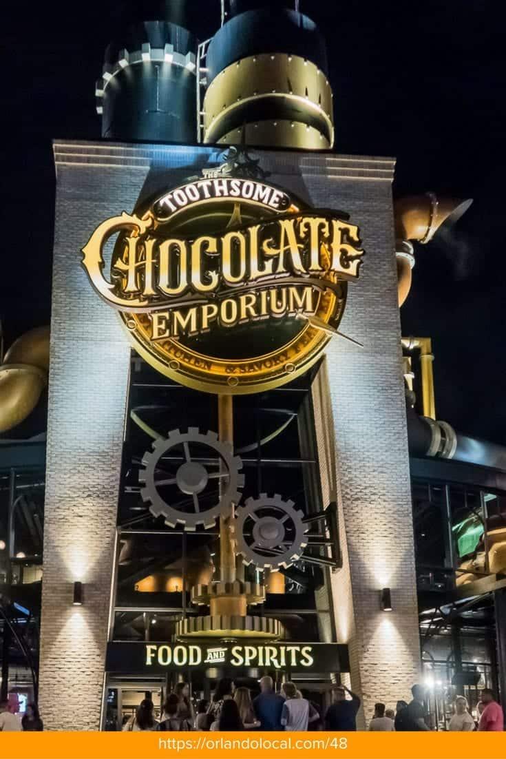 Toothsome Chocolate Emporium | Review | CityWalk | Orlando | Universal Studios Orlando | Restaurants | Milkshakes