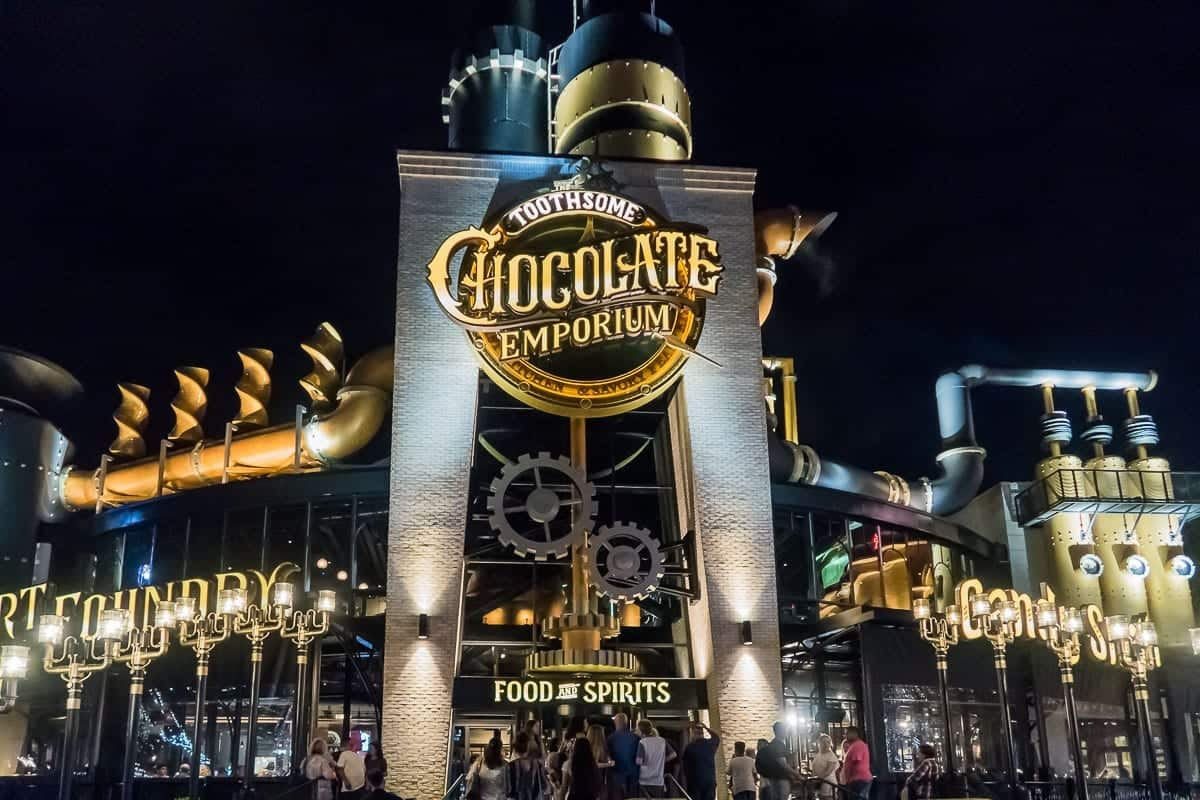 Toothsome Chocolate Emporium Savory Feast Kitchen Review