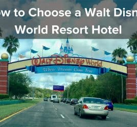 How to Choose a Walt Disney World Resort Hotel