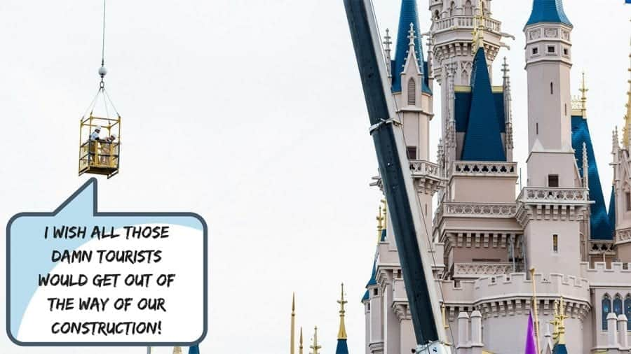 DOES THE CONSTANT CONSTRUCTION AT WALT DISNEY WORLD RUIN YOUR VACATION
