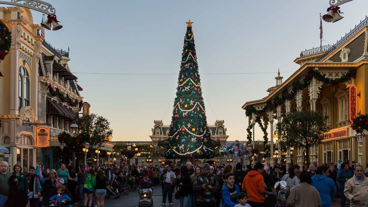Christmas Season at Walt Disney World