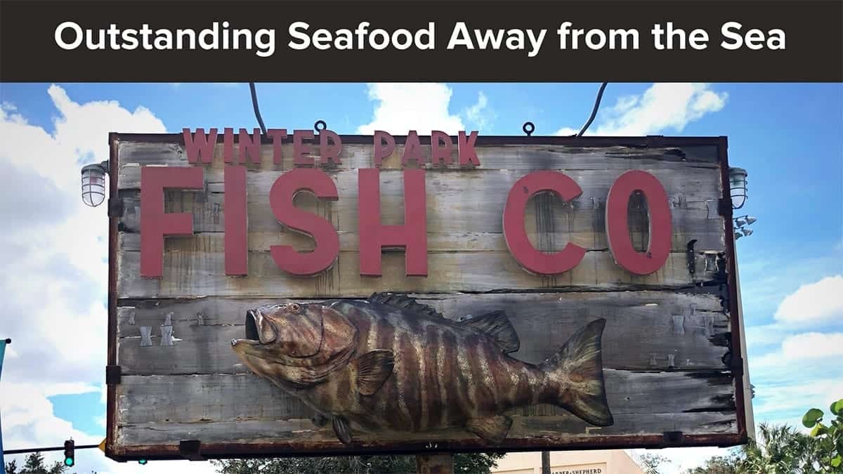 Ol 061 winter park fish company review orlando local for Fresh fish market orlando