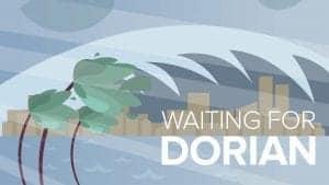 Waiting for Hurricane Dorian to Arrive